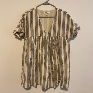Listicle Striped Top